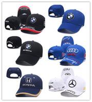 Wholesale hat logo design resale online - New Design Men Fashion Cotton Car logo M performance Baseball Cap hat for bmw M3 M5 X1 X3 X4 X5 X6 i Z4 GT li E30 E34 E36 E38
