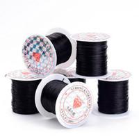 cordão elástico para jóias venda por atacado-1 rolo 10M Multi-cores fortes Stretchy Elastic Beading fio / cabo / String / Rosca para DIY pulseiras fazer jóias