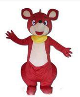 Wholesale christmas cartoon mascot online – ideas 2019 hot sale Kangaroo Mascot Costume Adult size Christmas Halloween party carnival Cartoon Costumes Fast
