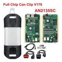 Wholesale can clip diagnostic interface resale online - Auto for Renault Can Clip Diagnostic Scanner Full Chip AN2135SC V172 Diagnostic Interface Tool OBD2 Diagnostic Interface Kit Code Reader
