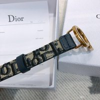 Wholesale dress belt buckles for sale - Group buy 2020 new fashion high end men s and women s women s rotary buckle two sides available leather belt designer casual dress jeans ladies belt