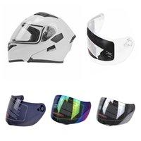 Wholesale black visor for motorcycle helmet resale online - Motorcycle Helmet Lens Motorbike Helmet Visor Lens Windshield Replacement for K5 K3SVJK JK GXT Full Face Motorbike