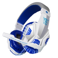 auriculares bluetooth estéreo para laptop al por mayor-Alta calidad Gaming Headset auriculares grandes fresca brilla estéreo de auriculares con micrófono para PC Gamer del ordenador portátil