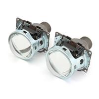 lente oculta al por mayor-2X 3 '' Q5 H4 Bi-xenon HID para faros / faros antiniebla Kit de lentes para proyector Hi / Lo Beam