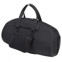 sert taşıma çantası toptan satış-JL Boombox Taşınabilir Bluetooth Su Geçirmez Hoparlör Hard Case için Taşıma Çantası Koruyucu Kutusu (Siyah)