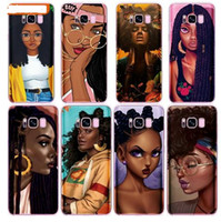 Wholesale note girl online – custom Luxury bunz Melanin Poppin Aba Black Girl Case For Samsung Galaxy S10 S10 Plus S9 S8 Lite A6 A8 A5 Plus Note J5 J7 S6 S7 Edge