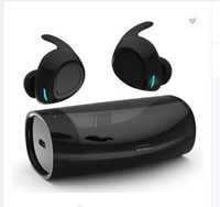 ingrosso orecchio senza fili del mini auricolari del bluetooth-2019 Innovative cuffie Sweatproof in-ear mini True Wireless Sport Auricolare Bluetooth TWS con V5.0 e microfono per smartphone