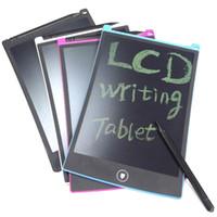 comprimés jouets achat en gros de-Écriture LCD Tablette Stylo Papier Tablettes Graphiques Tablettes pour Écriture Manuscrite Plan Écrivain pour Accueil Message Enfant Dessin Jouet Affaires Note