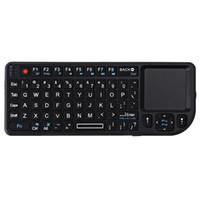 лазерный андроид оптовых-Беспроводная клавиатура Портативная клавиатура 2.4G беспроводной мини с сенсорным лазере для Android Windows, PS3 PS4