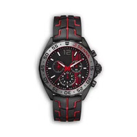 Wholesale watch f1 for sale - Group buy NEW luxury mens watches black steel case rubber strap F1 racing watch sport quartz Multifunctional chronograph calendar Wristwatches Montre