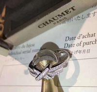 x geformte schmucksachen großhandel-S925 Sterling Silber Luxus Doppel X Form Punk Ring mit Diamant Stempel Logo Charm Ring Schmuck Geschenk Weihnachten Tag Drop Shipping PS649