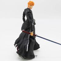 ingrosso giocattoli ichigo-Gioca a Arts Kai BLEACH Kurosaki Ichigo Action PVC Figure da collezione Toy Model 27,5 cm molto buono