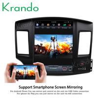 lecteur vidéo de voiture mitsubishi achat en gros de-Krando Android 6.0 12.1