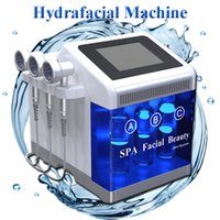 Wholesale beauty whitening facial cleaner for sale - Group buy 2019 prossessional hydra facial machine ance removal vacuum cleaner hydro dermabrasion machine Skin whitening home use Beauty Equipment