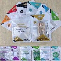 sacos de embalagem de cabo usb venda por atacado-10.5x15 sacos de Zíper saco de Pacote de varejo de Plástico poli opp para iphone samsung xiaomi cabo USB pendurar buraco saco de embalagem