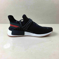 Wholesale human being shoes for sale - Group buy 2019 new NMD Human beings Primeknit Triple black White Bee boosd designer Running shoes For Men Women OREO NMDS Sports sneakers size