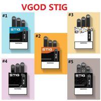 Wholesale cig pens resale online - Vape Pen Hotest Vgod Stig Pods Disposable Vape Pen Kit mAh Fully Charged Battery With ml empty pods Capacity Disposable E Cig Kit