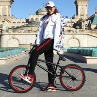 ingrosso pollici bmx-BMX telaio in acciaio bicicletta, freestyle spettacolo degli uomini da 20 pollici, proprio all'angolo della strada estremo prodezza, freno posteriore mountain bike, V Stunt Bike acti