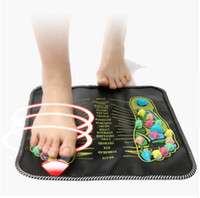 Hot Sale Acupuncture Cobblestone Colorful Foot Reflexology Walk Stone Square Foot Massager Cushion for Relax Body