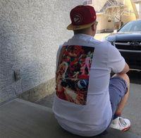 Wholesale men fashion tshirt usa for sale - Group buy 19ss USA Fashion Summer Box Logo Sekintani La Norihiro Boobies Tee Skateboard Mens designer t shirt Women Street Casual Tshirt