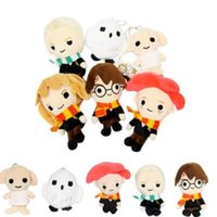 Wholesale bean movie for sale - 14cm Hermione Dobby Harry Potter Hedwig Bean Plush Toy Kids Xmas Gift Harry Potter Keychain Bag Pendants Novelty Items CCA10788