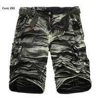 2020 Fashion Cargo Pants Mens Casual Calf Length Pants Man Loose Cropped Trousers Multi Pocket Beamed Overalls Male Sports Short 40 From Shanjin,