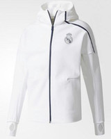 Wholesale sports uniforms resale online - Top cheap ZNE Hoodie Z N E HOODIE Men s Soccer Tracksuits Hooded windbreaker Jacket Uniforms kits Sports Uniforms jersey Tracksuit Football
