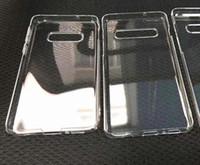 boş hard telefon kutuları toptan satış-Şeffaf Temizle Sert PC Kasa Samsung Galaxy S10E S10 Artı Kristal Plastik Moda Düz Boş Telefon Cilt Kapak Için Samsung S10 100 adet