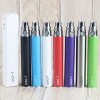satılık balmumu vapa kalemi toptan satış-Satış Stok Otantik UGO-T Alt USB Şarj edilebilir Vape Pil Kalem 900mAh 1100mAh Kapasite Ego 510 Pil Kuru Ot Wax Tankların