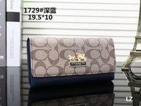 freie spitzenmuster großhandel-2019 New L Bag Kostenloser Versand Brieftasche Hohe Qualität Plaid Muster Frauen Brieftasche Männer Pures High-end Luxus Xs Designer L Brieftasche Mit KEIN Box15