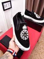pp sneakers بالجملة-العلامة التجارية مصمم الأزياء الفاخرة أحذية الذهب أدنى قطعة جلد المصممين شقة رجل إمرأة حذاء عرضي 38-44 حزب التحرير PP 20