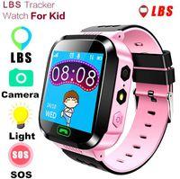 детские часы gps оптовых-Q528 Смарт Часы Детские Наручные Часы Водонепроницаемые Детские С Удаленной Камерой SIM-Звонки Монитор Подарка SOS для Ребенка ПК Q50 SmartWatch