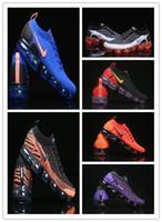 erkekler için yumuşak koşu ayakkabıları toptan satış-Eğitmen v2 Yumuşak Yastık Koşu Ayakkabıları Erkekler Sneakers Kadınlar Siyah Beyaz Spor Şok Koşu Yürüyüş Yürüyüş 2018 Tasarımcı Ayakkabı Açık Atletik