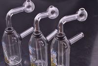 ingrosso divertente olio rig-mini creativo divertente Bonger Bong Glass Water Pipes piccolo olio Dab Rig Bong pipe