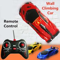 brinquedos de carros de parede venda por atacado-Gravidade Desafiante RC Car Anti Gravity Car Escalada De Controle Remoto de Parede Escalada Elétrica Brinquedos Máquina para Meninos Gilrs Caçoa o Presente