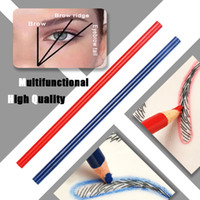 Wholesale starter tattoos resale online - Starter Practice Skin Eyebrow Microblading Kit Tattoo Set Needles Positioning Ruler Pigment Ink for Permanent Permanent Makeup Supply