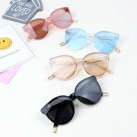 kızlar gözlük çerçeveleri çocuklar toptan satış-Moda Çocuklar Boy Güneş Gözlüğü Erkek Açık Spor Büyük Çerçeve Gözlük Kızlar Seyahat Gözlük Plaj Çocuk Gözlük TTA1027