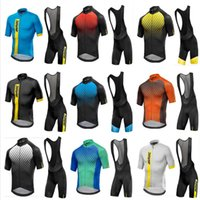 Wholesale cycling jerseys men online - Cycling Jersey Short Sleeve Suit Rompers Bike Clothing Outdoors Sports Men Multi Color Ventilation Wear Resistant Fashion mkf1