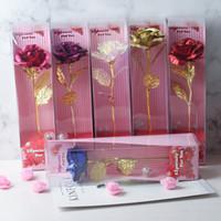 düğün davetlisi mumlar toptan satış-Yeni Valentine Tek Gül ile Işık Karanfiller Çiçek Anneler günün Hediye İyi Sevgililer Günü Hediye Yapay Çiçekler 1 adet / lot
