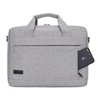 Wholesale white briefcase men resale online - Large Capacity Laptop Handbag for Men Women Travel Briefcase Bussiness Notebook Bag for Inch