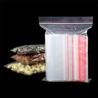 embalagem de saco de plástico pequena venda por atacado-7 tamanho 100 pcs 10x15 / 6x8 Pequeno Mini Zip lock Baggies Sacos de Embalagens de Plástico pequeno saco plástico com zíper ziplock Sacos de Armazenamento de Embalagem