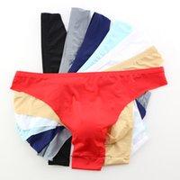Wholesale sexy pants brief man for sale - Group buy Soft Breathable Transparent mesh Men Underwear Briefs sexy pants Comfortable Low Waist Solid Seamless Short Men Underpants F604