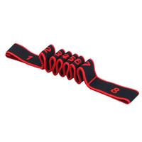 exercices de ceinture de fitness achat en gros de-Danse latine élastique Stretch Belt Exercise Pull Strap Sports Yoga Fitness entraînement bande de résistance boucle pour équipement de musculation
