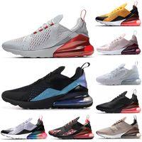 ingrosso pietre nere-Nike Air Max 270 scarpe da tennis da tennis di marca WOLF GREY scarpe da ginnastica da uomo SEPIA STONE triple s bianco nero THROWBACK sneakers sportive da mare ultra