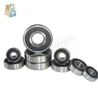 Metal Rubber Sealed Roller Bearings Wheel for scooter 6904-2RS 20x37x9 mm