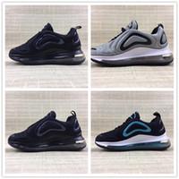 Nike air max 720 2019 air flambant neuf dentelle respirante enfants enfants Chaussures de course fille garçon enfant Baskets taille EUR 28 35