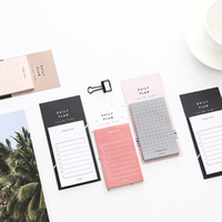 Wholesale sticky notes pad for sale - Group buy 500Sheets Set Concise Grid NoteBooks Paper Sticky Notes Weekly Daily Planner Writing Pads Office School Supplies Stationery