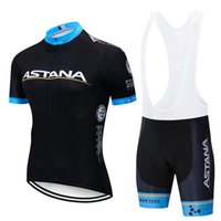 siyah siklon şortları toptan satış-Yeni 2019 Siyah Takım pro bisiklet jersey 9D jel Pad bisiklet şort set erkekler Ropa Ciclismo bisiklet Maillot Culotte giyim
