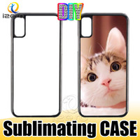 Wholesale blank hard phone cases for sale – best 2D Sublimation Hard Plastic DIY Designer Phone Case PC Sublimating Blank Back Cover for iPhone XS MAX XR X Samsung S10E S10 Plus
