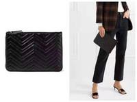 çanta için yeni stiller toptan satış-Sıcak Satış Yeni Stil Tasarımcı Marmont bayan Çanta Moda Boyutu 30 CM 20 CM Zarif Profesyonel kadın Moda Debriyaj tarzı yeni Uygun